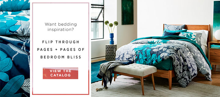 Want Bedding Inspiration? View The Catalog