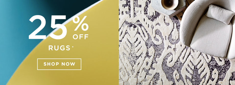 25% Off Rugs