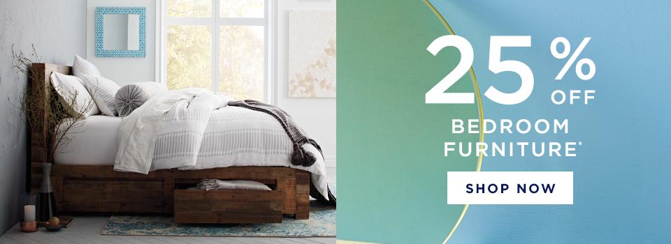 25% Off Bedroom Furniture