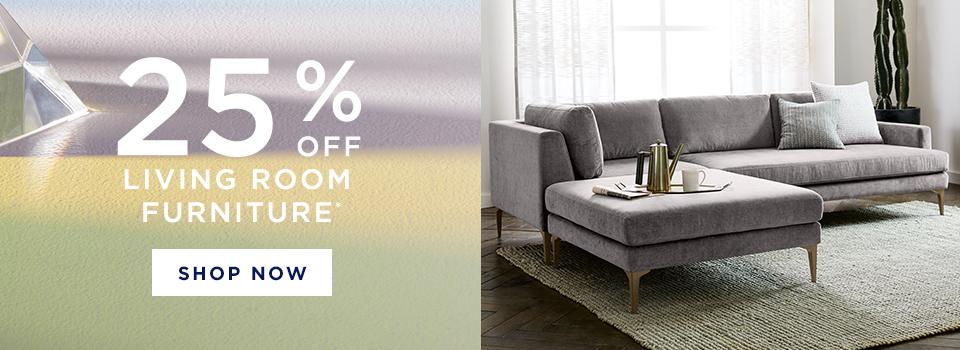 25% Off Living Room Furniture