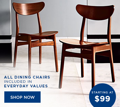 All Dining Chairs Included In Everyday Values