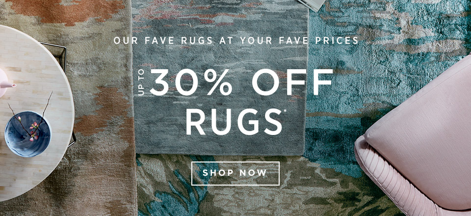 Up To 30% Off Rugs