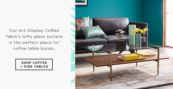 Shop Coffee + Side Tables