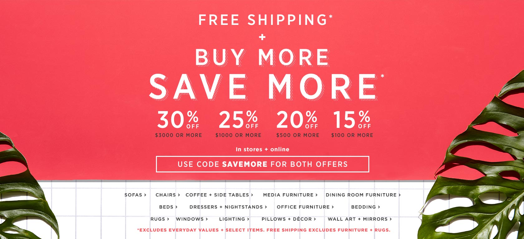 Free Shipping + Buy More Save More! Use Code SAVEMORE For Both Offers