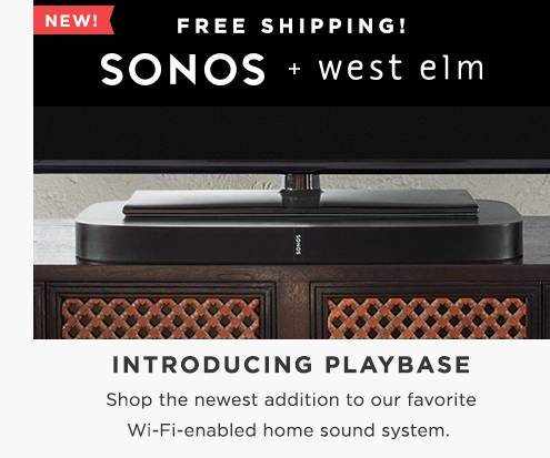 Introducing Playbase! Shop The Newest Addition To Our Favorite WiFi-Enabled Home Sound System + Free Shipping!