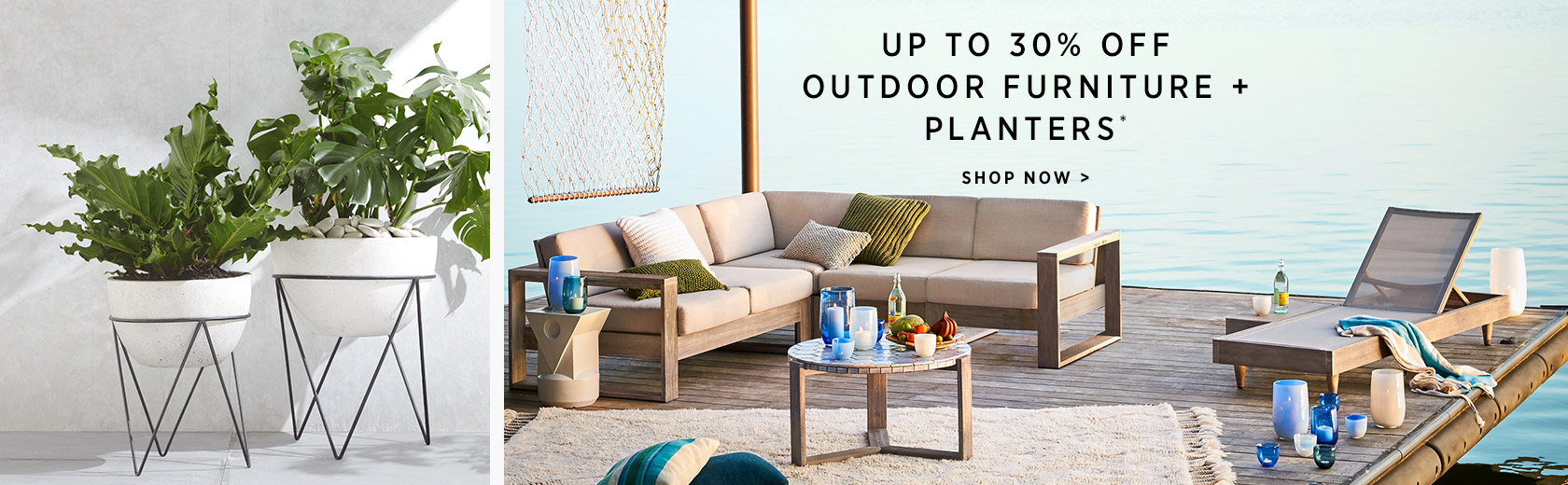 Up To 30% Off Outdoor Furniture
