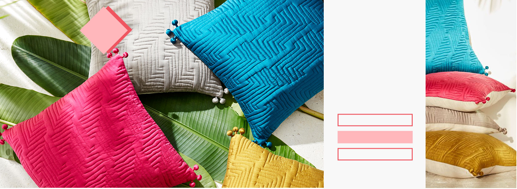 Up To 30% Off Select Pillows + Throws